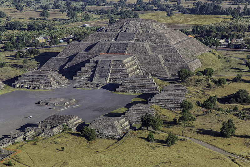 Teotihuacán city