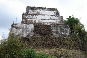 el tepozteco aztec architectecture